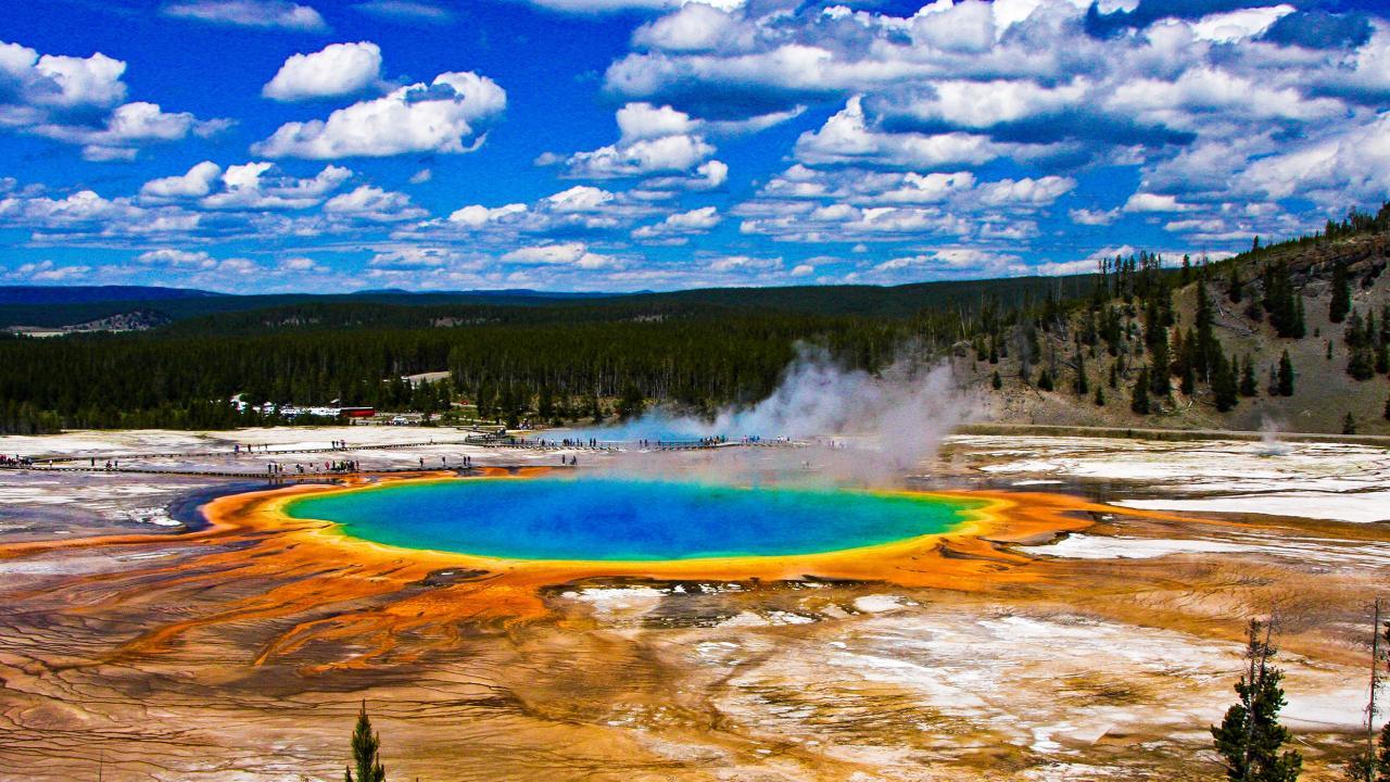 Yellowstone Karte.Die Yellowstone Rundreise 11 Stationen Die Ihr Auf Eurem Epischen
