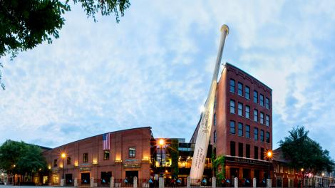 Das Louisville Slugger Museum& Factory in Kentucky