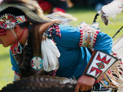 Jährliches Powwow des Plains Indian Museum