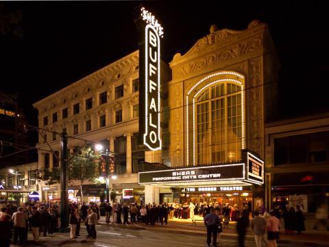 Das Buffalo Theater, Bühne für die Curtain Up!- Veranstaltungen