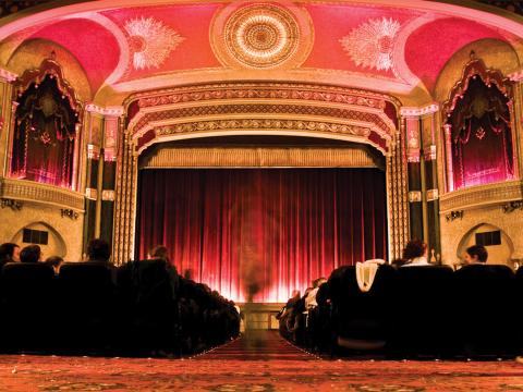 Das Oriental Theater, die Heimat des Milwaukee Film Festivals