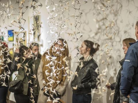 Eine Ausstellung bei der Denver Arts Week