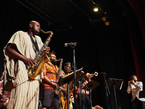 Mitreißende Melodien beim Chicago Jazz Fest