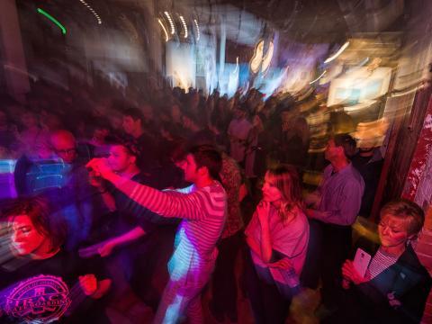 Kunst, Musik und mehr aus der Region während der Terrain-Partynacht
