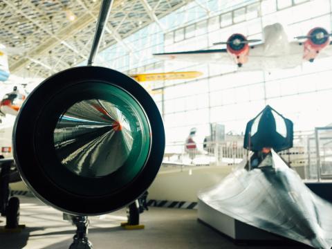 Auch das Museum of Flight nimmt am Seattle Museum Month teil.