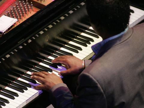 Beim Gilmore International Keyboard Festival wird in die Tasten gehauen.