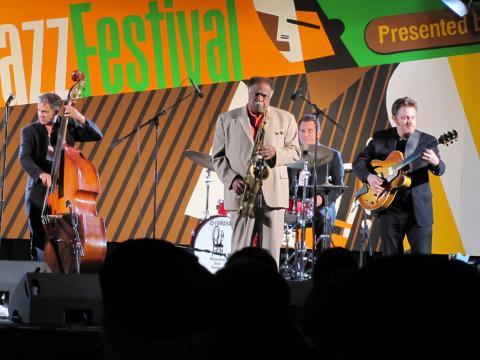 Beste Unterhaltung beim Monterey Jazz Festival