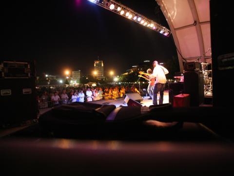Ein Auftritt beim Kalamazoo Blues Festival