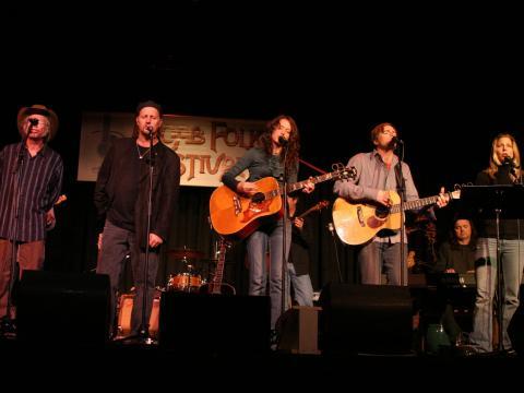 Konzert beim Moab Folk Festival