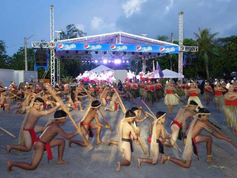 Auftritt bei der Guam Micronesia Island Fair