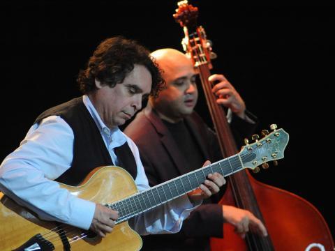 Musiker beim Freihofer's Saratoga Jazz Festival