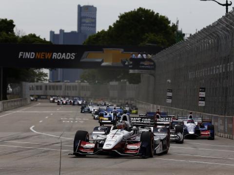 Grand Prix-Autorennen in Detroit