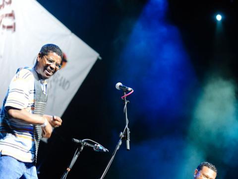 Livemusik beim Marshland Festival