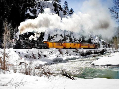 Bergexkursionen mit der historischen Durango& Silverton Narrow Gauge Railroad