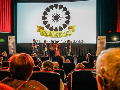 Q&A-Runde beim Twin Cities Film Fest