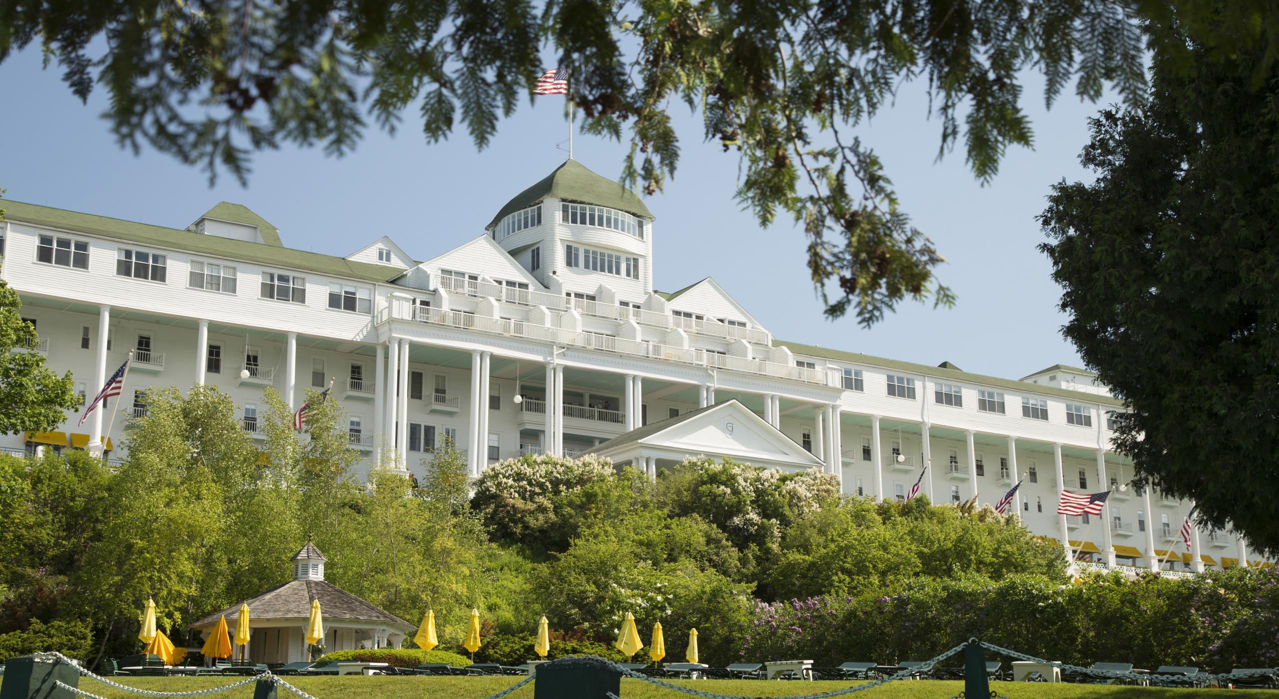 Grand Hotel Ein Traditioneller Sommerurlaub Auf Mackinac Island Visit The Usa