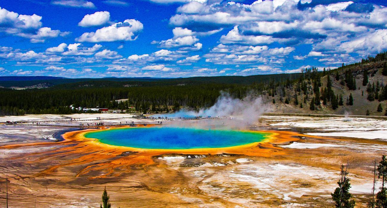 Yellowstone National Park Karte.Die Yellowstone Rundreise 11 Stationen Die Ihr Auf Eurem