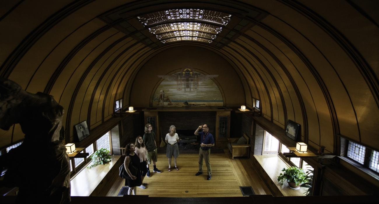 chicago illinois die ber hmte architektur von frank. Black Bedroom Furniture Sets. Home Design Ideas