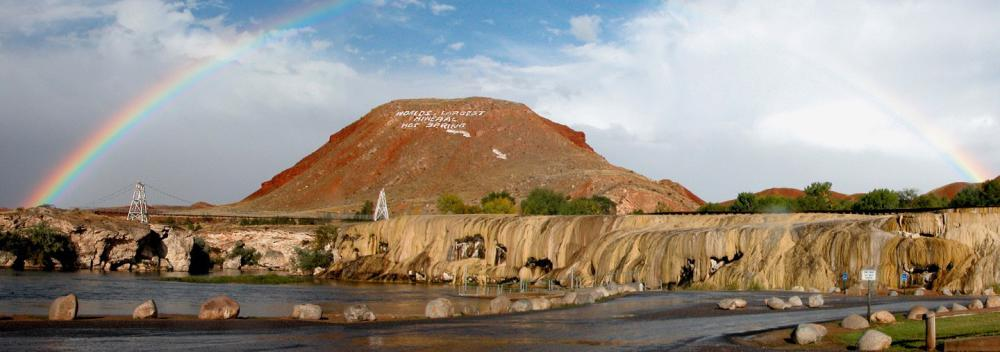 Monument Hill und Hot Springs State Park in Thermopolis, Wyoming