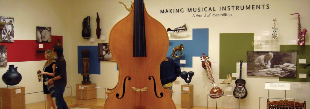 Das Musical Instrument Museum in Phoenix, Arizona