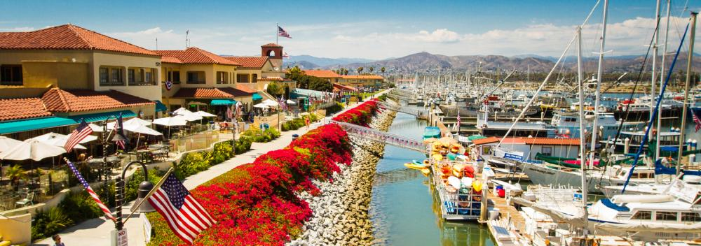Das Ventura Harbor Village in Ventura, Kalifornien