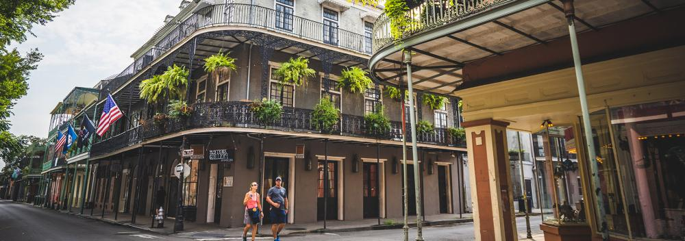 Das French Quarter in New Orleans, Louisiana